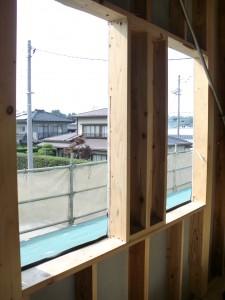 I様邸施工状況「屋根と窓がつけられました!」
