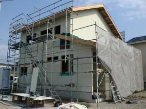 I様邸「面材、遮熱透湿防水シート、胴縁、サッシ、窓」